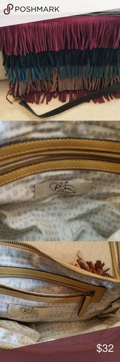 Sole SOciety New Suede fring bag New Condition Sole Society Bags Crossbody Bags