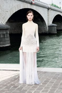 Givenchy. The ombre-dyed trend with elegant/subtle execution.
