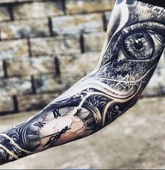 Keep an eye on time tattoo
