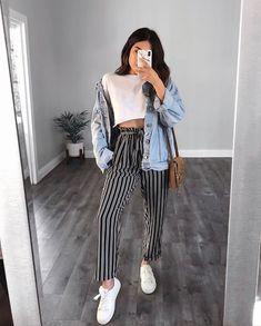 The Ultimate Trendy Outfits for Summer Teen Fashion Trick - Casual Travel Outfit, Casual Outfits, Fresh Outfits, Casual Dresses, Summer Dresses, Mode Outfits, Fashion Outfits, Womens Fashion, Fashion 2016