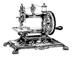 Antique Sewing Machine Graphic ...................... #DIY #graphics #typography #vintage #furniture #decor #crafts