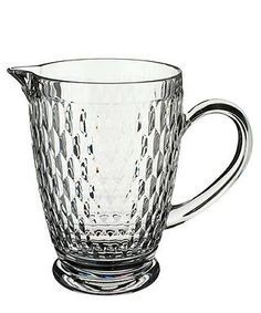 Boston crystal glass jug by Villeroy & Boch on secretsales.com