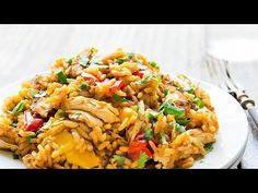 Instant Pot Chicken and Rice VIDEO - Leelalicious