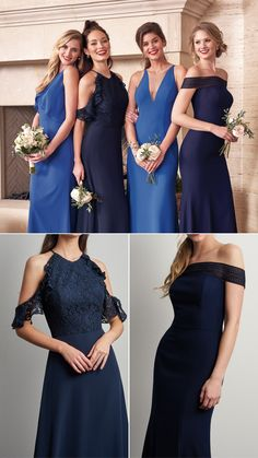 Jasmine Bridal is home to 8 separate designer wedding labels as well as two of our own line. Jasmine is the go to choice for wedding and special event dresses. Mix Match Bridesmaids, Plus Size Bridesmaid, Simple Bridesmaid Dresses, Bridal Dresses, Jasmine Bridal, Wedding Labels, Event Dresses, Fall 2018, Wedding Designs