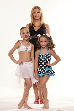 Maddie and Mackenzie Ziegler from Dance Moms
