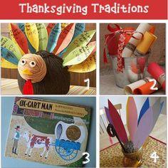 12 Thanksgiving Craft Activities for Children