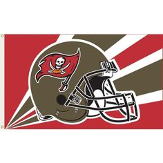 3 ft. x 5 ft. Polyester Tampa Bay Buccaneers Flag