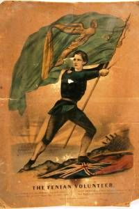The Fenian volunteer 1866  colour Illustration on paper  Courtesy Kilmainham Gaol and Museum, Dublin.