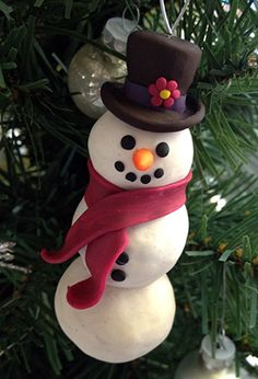 Superb 1000 Images About Sculpey Projects On Pinterest Sculpey Clay Easy Diy Christmas Decorations Tissureus