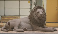 """Chicago's Lincoln Park Zoo of the Chicago Park District has a bronze sculpture of the beloved lion, """"Adelor,""""which is located at the east entrance facing the Lakefront. Indian Art Paintings, Animal Paintings, Animal Drawings, Modern Sculpture, Sculpture Art, Bronze Sculpture, Shiva Tattoo Design, Lions Photos, Lord Ganesha Paintings"""