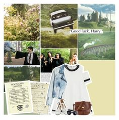 """""""good luck, harry"""" by thatwhiteferret ❤ liked on Polyvore featuring Nicki Minaj, Radcliffe, The Bridge, Luna and MANGO"""
