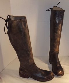 NEW BED STU WOMEN'S MANCHESTER BLACK KNEE HIGH DISTRESSED LEATHER BOOTS SIZE 6.5 in Clothing, Shoes & Accessories, Women's Shoes, Boots   eBay