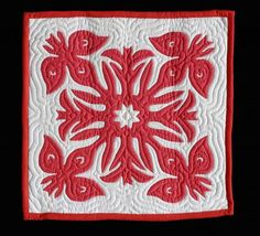 An example of Hawaiian quilting.