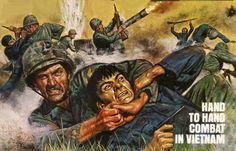 Hand To Hand Combat In Vietnam by peterpulp