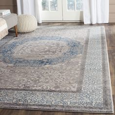 online shopping for Safavieh Sofia Collection Vintage Light Grey Blue Center Medallion Distressed Area Rug x from top store. See new offer for Safavieh Sofia Collection Vintage Light Grey Blue Center Medallion Distressed Area Rug x Contemporary Classic, Modern Classic, Contemporary Rugs, Cool Rugs, Blue Abstract, Bristol, Vintage Lighting, Online Home Decor Stores, Online Shopping