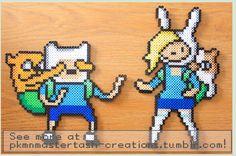 Finn And Fionna Pixel Art!