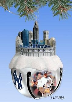 Yankees Christmas ornament. Need this for our tree