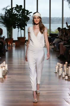 5b66d4a7a5090 11 Fierce Wedding Jumpsuits And Pantsuits From Bridal Fashion Week