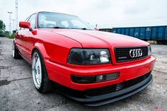 Audi Audi 80, Red Audi, Audi Cars, Audi Motor, Audi Sport, Car Manufacturers, Hot Cars, Cars And Motorcycles, Super Cars