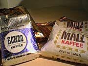 DDR Kaffee (Ganze Bohnen)  und Malzkaffee