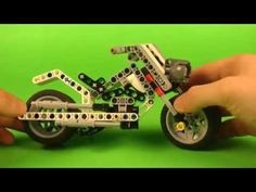 Motorcycle LEGO Mindstorms EV3 Education - YouTube