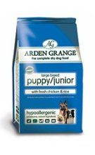 Arden Grange Arden Grange Dry Puppy/Junior Food Large Breed 15kg from Arden Grange at the Just Dog Food £42.65  http://www.justdogfood.com/arden-grange-arden-grange-dry-puppyjunior-food-large-breed-15kg/