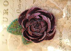 (31) Вышитые бисером украшения Киры Ватаманюк. Цветы, птички и бабочки