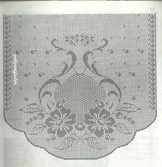 Art Au Crochet, Diy Crafts Crochet, Crochet Borders, Crochet Stitches Patterns, Embroidery Patterns, Motifs Art Nouveau, Art Nouveau Pattern, Filet Crochet Charts, Crochet Diagram