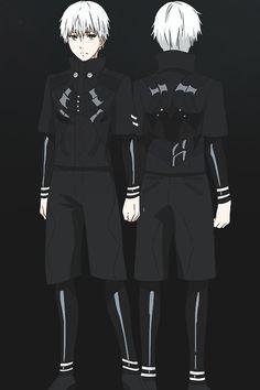 Tokyo Ghoul √A — Kaneki Ken • CHARACTER DESIGN