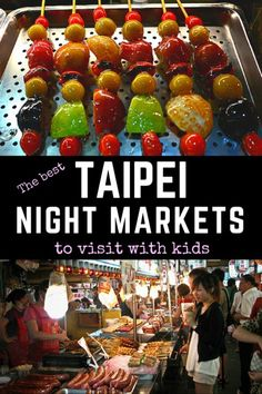 Taipei, Taiwan For Families | Adventures abound in the cultural metropolis of Taipei, and you'd be doing yourself a disservice if you missed out on the city's best night markets. The local sights, sounds, and flavors at Shilin Night Market and Taipei Shida Market are perfect for all ages to enjoy. Cruise with Royal Caribbean to Taiwan for this unforgettable experience.