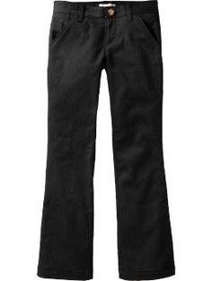 Girls Stretch-Khaki Uniform Pants | Old Navy