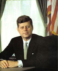 35th president John F Kennedy