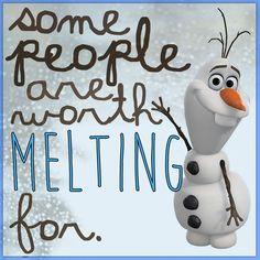 Olaf has a point ❤️❄️⛄️