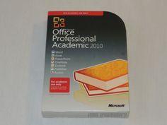 Microsoft Office Professional Academic 2010 32/64-Bit (Retail (License + Media) #Microsoft #MicrosoftOfficeProfessional #Academic #Office2010