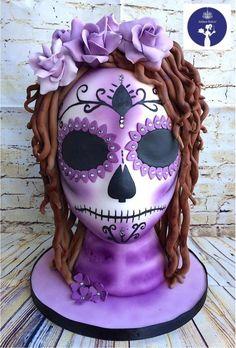 Sugar Skull Baker 2016 Day Of The Dead  by AitkenBakin