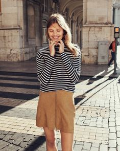 6 Genius Outfit Ideas From Madewell's Fall Campaign via @WhoWhatWear
