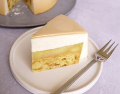 Mousse Cake a la old-fashioned apple pie - Mette Shakes Cakes Fancy Desserts, Fancy Cakes, Old Fashioned Apple Pie, Sweet Recipes, Cake Recipes, Mousse Cake, No Bake Cake, Amazing Cakes, Food Inspiration