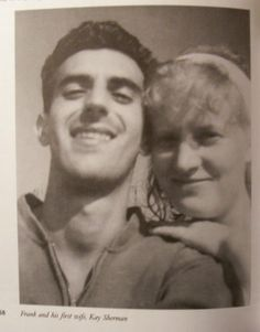 Frank Zappa and his first wife Kay
