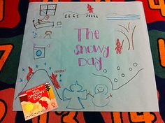Another day we sequenced Peter's snowy day and used the story map to retell the story. We first did it together so I could model what I expected them to do. Then, they got to make their own story map.