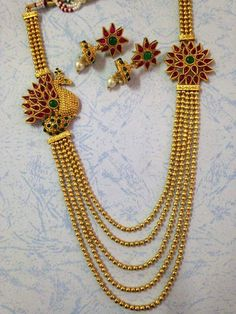 Multicolor Royal Kundan Stunning Peacock Style 5 Line Rani Haar Necklace Jewelry Design Drawing, Gold Jewellery Design, Silver Jewelry, Silver Earrings, Indian Jewelry, Wedding Jewelry, Gold Wedding, Pendant Jewelry, Jewelry Sets