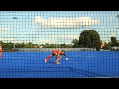 Field Hockey — Reverse shoot. I've always needed to learn this.