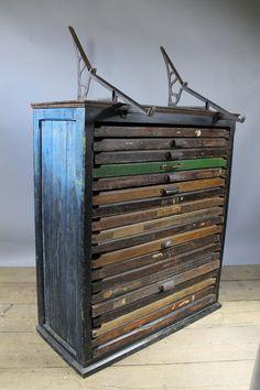 Antique Printers Letterpress Cabinet | Letterpresses, Washington ...