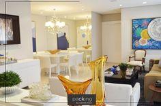 """Packing é ação! Nada mais real do que o comentário da nossa cliente sobre o projeto dela: 🔷 """"Consegui mudar meu living de forma significativa, integrando os ambientes sem precisar de obras estruturais. Minha sala ficou muito bonita, moderna e, além disso, o atendimento de toda a equipe foi ótimo. Super recomendo!"""" 🔷  #packingbycamilaklein #transformação #decoração #design #homedecor"""