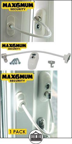 MAX6MUM SECURITY Lockable Baby and Child Window and Door Safe Restrictor in White (Single Pack)  ✿ Seguridad para tu bebé - (Protege a tus hijos) ✿ ▬► Ver oferta: http://comprar.io/goto/B00CFMCGD0