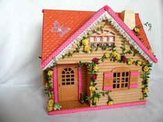 sylvanian families cath kidston decorated and furnished cottage plus extras | eBay