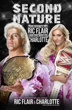 WWE Second Nature: Legacy of RIC Flair and Rise of Charlotte Flair Hardcover Book Charlotte Free, Charlotte Flair Wwe, Charlotte News, Lovers Day, Ric Flair, Wrestling Divas, Female Wrestlers, Wwe Wrestlers, Book Signing