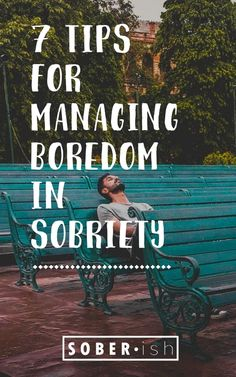 A lot of newly sober people complain about being bored. When you quit drinking alcohol, it can be hard to know what to do with all the free time you have. Here are 7 tips to help you manage your boredom in sobriety. Quit Drinking Alcohol, Quitting Alcohol, How To Quit Drinking, Sober Quotes, Aa Quotes, Crush Quotes, Getting Sober, Recovery Quotes, Tips