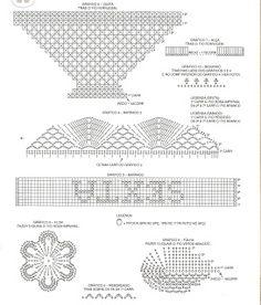 Cesta Flores de Crochê 3 -  /  Crochet Basket of Flowers 3 -
