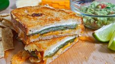 Sounds delicious but it's CRAZY high in calories (560)~~ Jalapeño Popper Grilled Cheese Sandwich