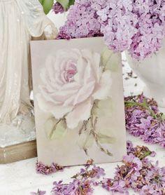 Lace & Lavender Flowers Cottage